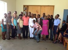 The first group of family nurse practitioner students in Haiti